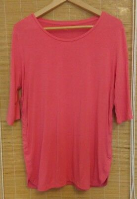 Pink nursing / breastfeeding top, Gap, small