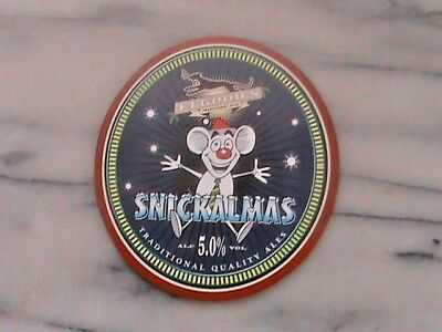 Elgoods Snickalmas Real Ale Beer Pump Clip Sign
