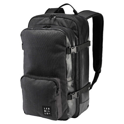 a81f1adf35ff Reebok LES MILLS Backpack Unisex Black Training Laptop Friendly Ventilated