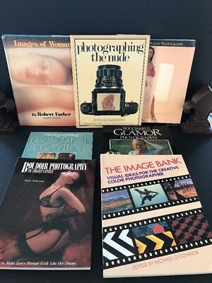 PHOTOGRAPHY Techniques and Equipment - Mixed Lot w/ Nude Images - FREE SHIPPING!