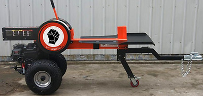 34 ton Kinetic Rapid Log Splitter. Towable, Briggs & Stratton 34ton. UK Delivery