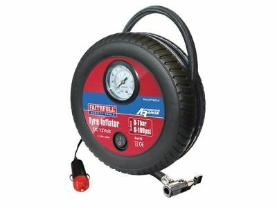 Faithfull AUTYINFLO Low Volume Tyre Inflator 12V