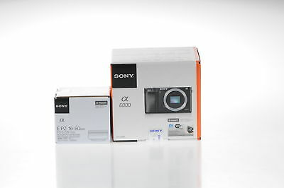 Sony Alpha A6000 Mirrorless Digital Camera with 16-50mm Lens (Senza Italiano)