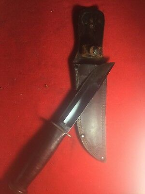 "RARE WWII WW2 Western Type 2 ""shark"" G-46-6 USN , Marine Aviators Fighting Knife"