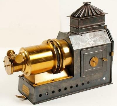 Riley Bros. Praesantia Magic Lantern Projector Lot 2706