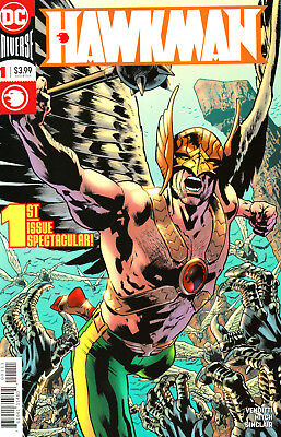 Hawkman #1 2 Lot of 2 2018 NM to VF+ an $8 value! Robert Venditti