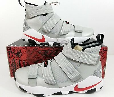 cheap for discount 6915b df3cd Nike Lebron Soldier XI SFG Silver Bullet Basketball Shoes 897646 007 Size  11.5