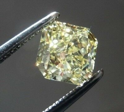 7 X 7 MM 1.65 Carat Off White Square Radiant Cut Loose Moissanite 4 Ring