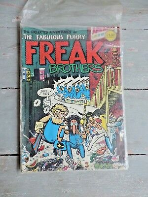 Collectors Lot of The Fabulous Furry Freak Brothers Comics