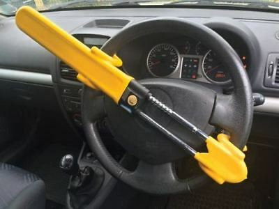 HEAVY DUTY Car steering Wheel lock high security anti theft hook van hook crook