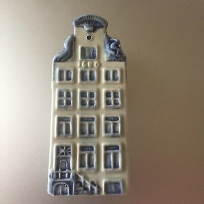 klm delft blue house # 14 ORIGINAL from 1960 NOT a reproduction