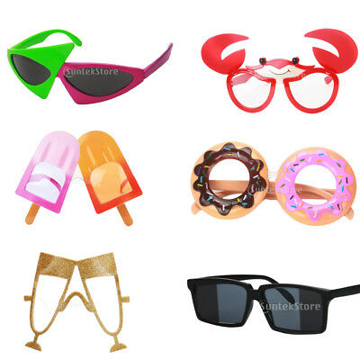 1cbed62ef9e Assorted Novelty Party Sunglasses Funny Eye Glasses Costume Photo Props