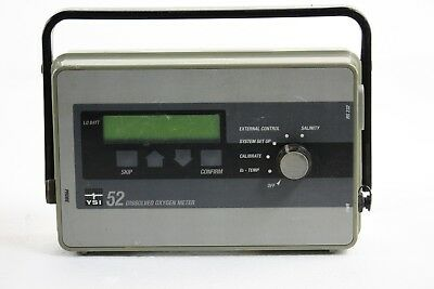 USED YSI 52 Dissolved Oxygen Meter