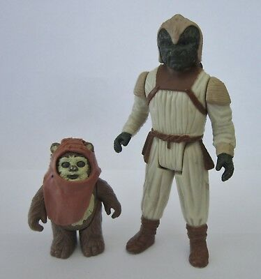 2 alte STAR WARS Figuren