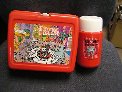Pee Wee's Playhouse  Plastic Lunchbox and Thermos