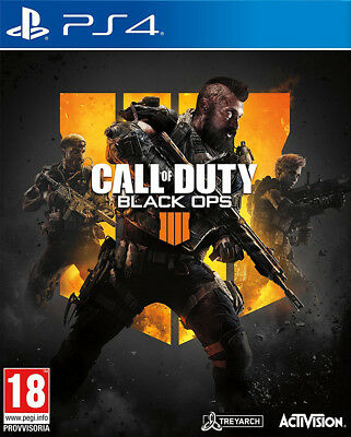 Ps4 Call Of Duty: Black Ops4