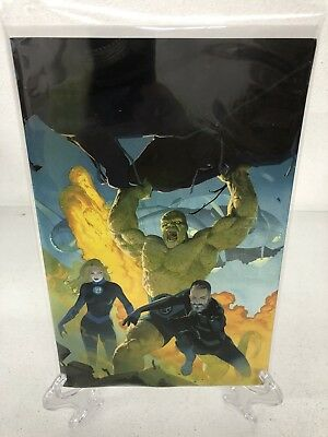 Fantastic Four #1 RIBIC VIRGIN Variant Cover In Hand Ready To Ship NEW Unread