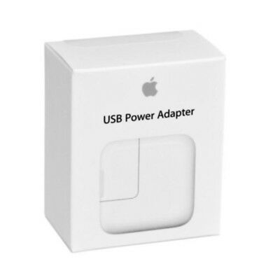 New OEM Authentic Original Apple 12W USB Power Adapter/Wall Charger A1401