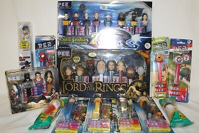 LOT- PEZ Dispenser w/Candy, Collectable PEZ, Superheros, Collector Editions