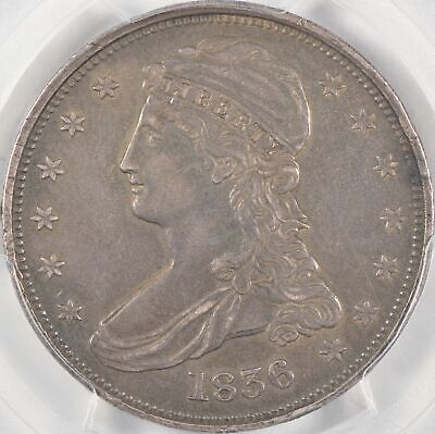 1836 Capped Bust Half Dollar, Reeded Edge, PCGS XF Details