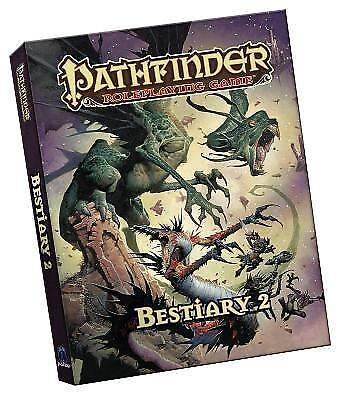 Pathfinder Roleplaying Game: Bestiary 2 Pocket Edition by Staff, Paizo in Used