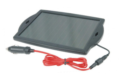 Visua Solar Powered Battery Charger. Ideal for Cars, Caravans and Boats (1.8 Wat