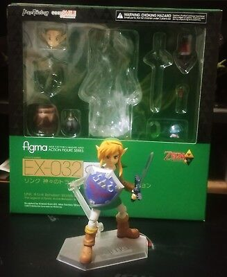 Max Factory Figma EX-032 Zelda: Link A Link Between Worlds ver DX Edition: USED