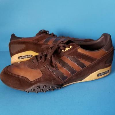 ADIDAS Adistar80 SNEAKERS Brown SHOES Track SOCCER Turf 2006 Sz 11.5 Rare !
