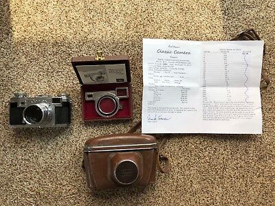 Contax IIa + Zeiss 50mm 1.5 + Extras