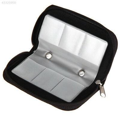 SD CF Memory Card 22 Slots Protective Storage Carrying Case Travel Holder Pouch