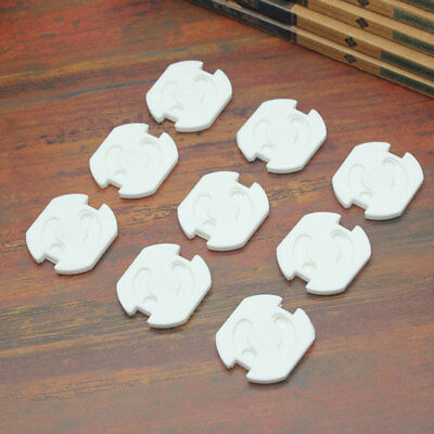 10Pcs/Pack Electric Outlet Cover Baby Kids Protectors Socket Safety Protective