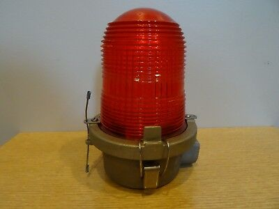 new farlight obstruction beacon light red cone airport tower marker