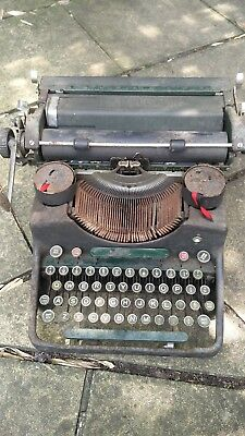 Post War Bar-lock Standard Typewriter, made in England-Spares&Repairs, Project