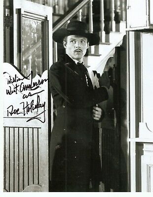 "Adam West autograph REAL NAME ""William West Anderson"" & also wrote ""Doc Holiday"""