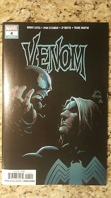 VENOM #4 2018 STEGMAN 1st PRINT NM SOLD OUT First God of Symbiotes Donny Cates