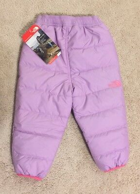 The North Face Perrito Reversible Insulated Infant Snow Pants NEW 12-18 Months