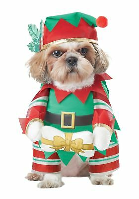Elf Pup Dog Costume, Christmas Pet, Santa's Helper, Adorable