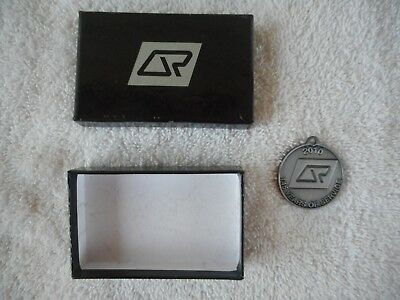 QR Queensland Rail  Medallion -  Commemorating 145 Years with box.