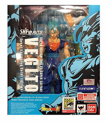 2018 SDCC Dragonball Z Vegito Exclusive BLUEFIN TAMASHII SH Figuarts (In Hand)