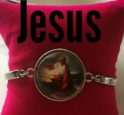 Code 334 Jesus infused Bracelet Holy Communion, Confirmation Boy Girl Religious