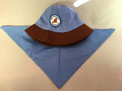 Scouts Canada Beavers Uniform Scarf & Size Medium Hat by Krystal Cap Co. Toronto