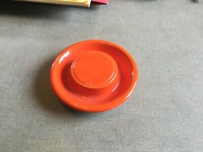 vintage fiesta Kitchen Kraft red covered small jar lid only