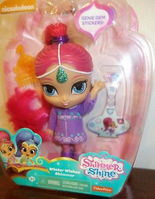 SHIMMER AND SHINE Winter Wishes Genies - Shimmer Doll