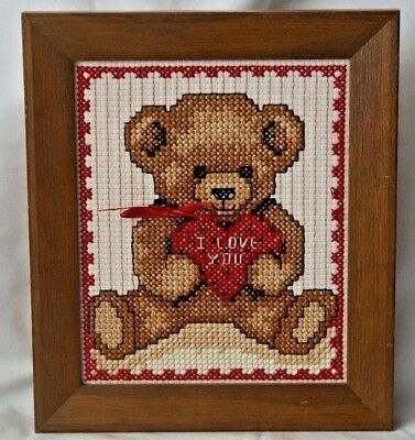 Tapestry Cross Stitch Completed