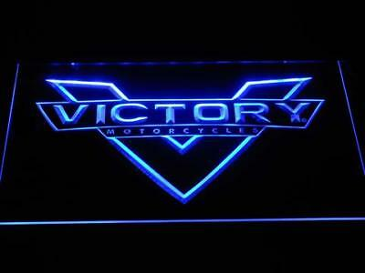 Victory Motorcycle LED Neon Sign Home Pub Man Cave Garage