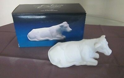 Vintage 1987 Avon Nativity Collectibles The Cow / Christmas Figurine w box
