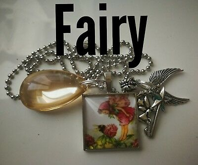 Code 337 Moon Fairy Crystal Infuse Necklace Fairyologist Doreen Virtue Wand moon