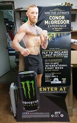 Conor Mcgregor Cardboard Cutout 6ft x 3ft MONSTER Energy