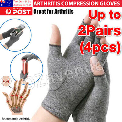 Arthritis Gloves Soft Compression Hand Therapy Support Sore Finger