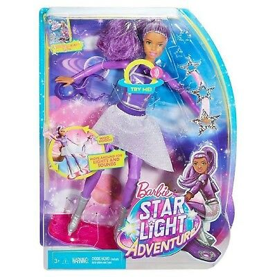 Barbie Star Light Adventure Space Barbie Toy Doll with Lights & Sounds Board